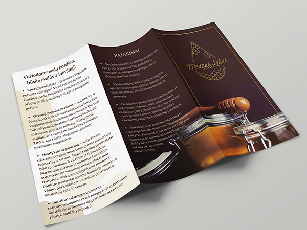 <span>Honey Co Medaus Lasas. Brochure Design.</span><i>→</i>