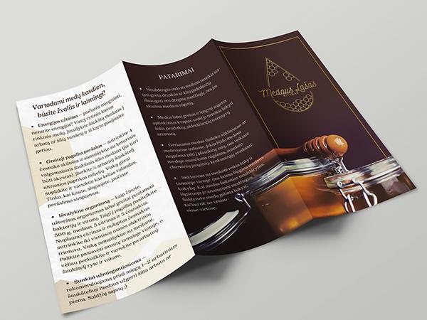<span>Honey Co Medaus Lasas. Brochure Design.</span><i>→</i>