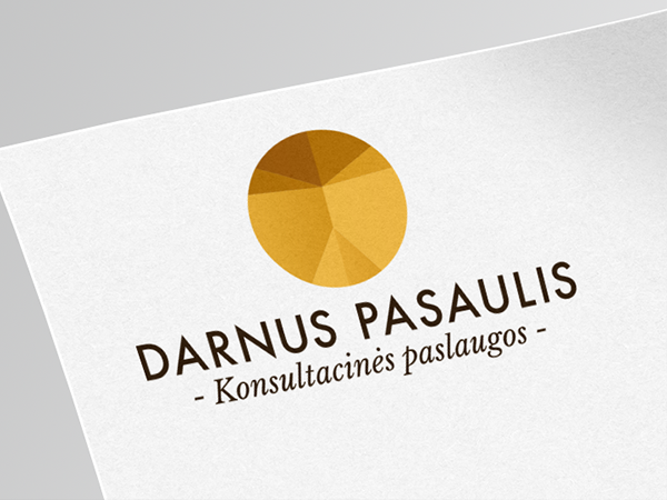 <span>Darnus Pasaulis. Logo Design.</span><i>→</i>