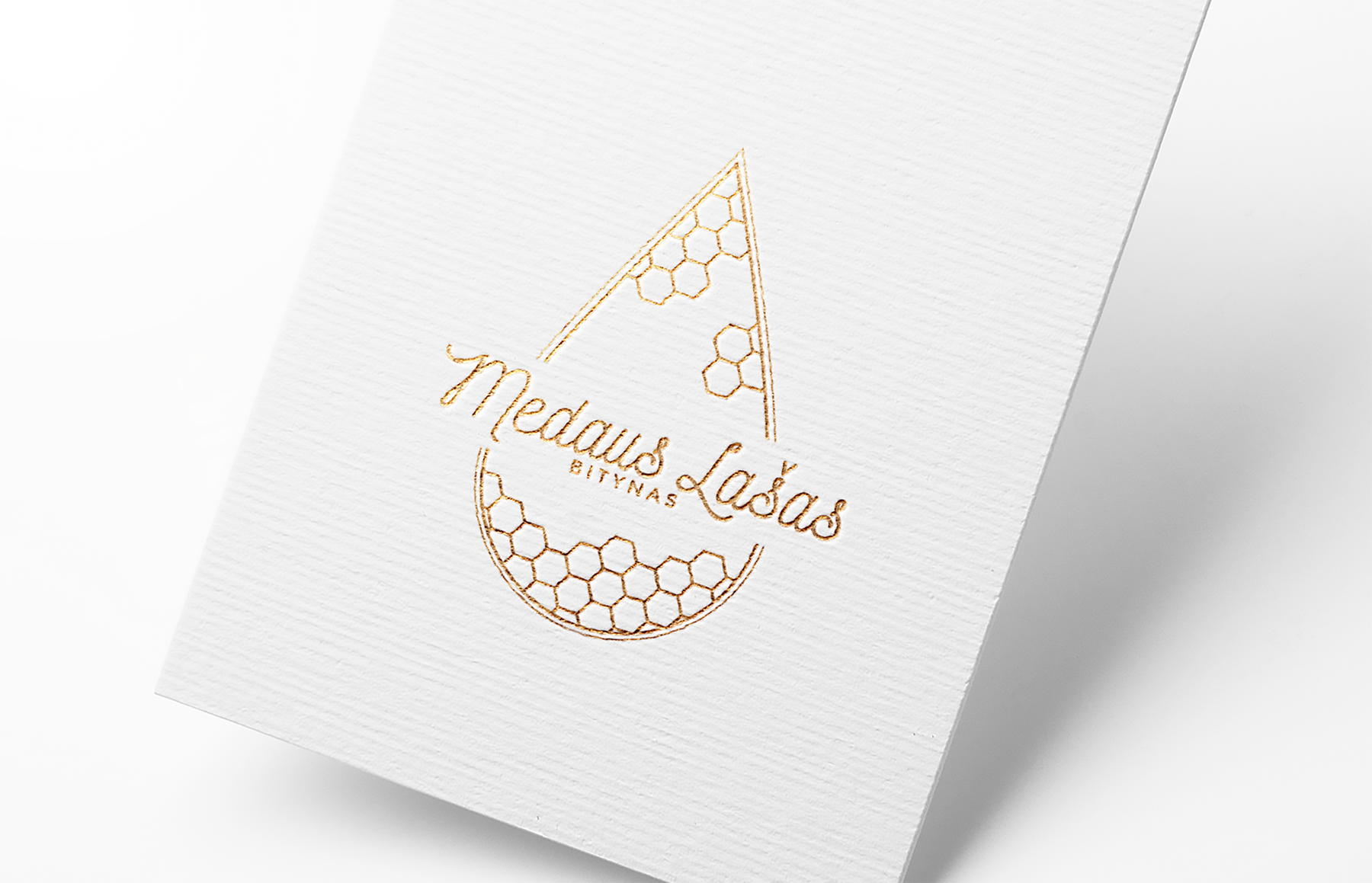 creative logo design for apiary Medaus Lasas by wondersomethings