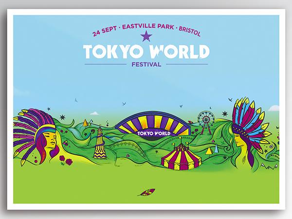 <span>Tokyo World. Festival Illustration.</span><i>→</i>