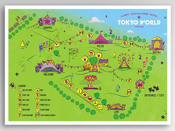 <span>Tokyo World. Festival Site Map.</span><i>→</i>
